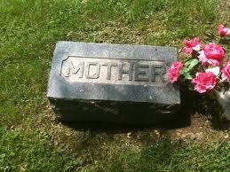 mother headstone